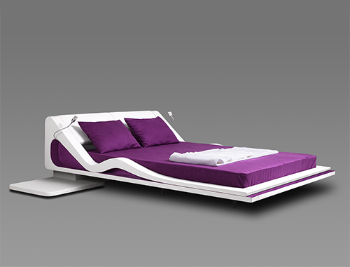 Тапицирано легло Пластик мебели Ергодизайн
